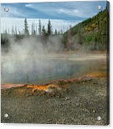 Yellowstone Colors #5 Acrylic Print