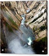 Yellowstone Fall Acrylic Print