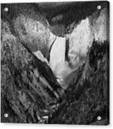 Yellowstone Falls II Acrylic Print