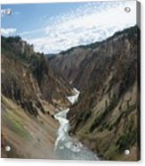 Yellowstone Grand Canyon Acrylic Print