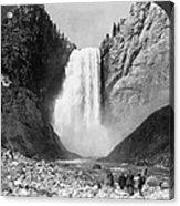 Yellowstone: Grand Falls Acrylic Print