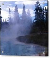 Yellowstone Haze Acrylic Print