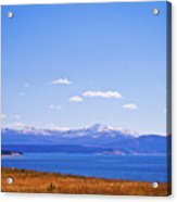 Yellowstone Lake Acrylic Print by Brent Parks