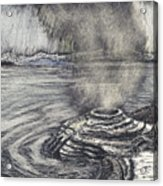 Yellowstone Lake Acrylic Print