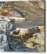 Yellowstone Mineral Features 3 Acrylic Print