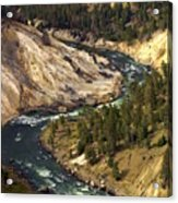 Yellowstone River Canyon Acrylic Print