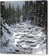 Yellowstone -  Soda Butte Creek Acrylic Print