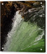 Yellowstone Upperfalls Acrylic Print