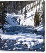 Yellowstone Winter One Acrylic Print