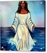 Yemaya- Mother Of All Orishas Acrylic Print