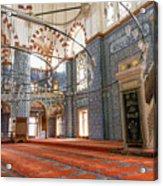 Yeni Cami Mosque Acrylic Print