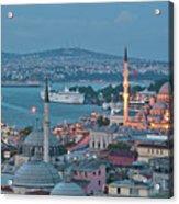 Yeni Camii Acrylic Print