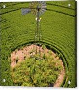 Yesterday's Windmill II Acrylic Print