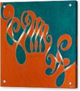Yin And Yang, No. 3 Acrylic Print