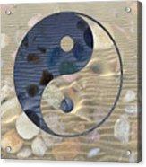 Yin Yang Harmony Acrylic Print