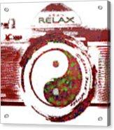 Yin Yang Photo Can Acrylic Print