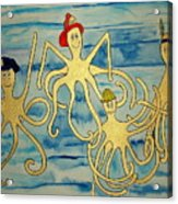 Ymca Octopai Acrylic Print