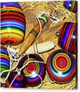 Yo Yos 7881 Acrylic Print