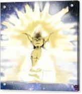 Yoda Budda Acrylic Print