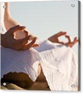 Yoga Acrylic Print