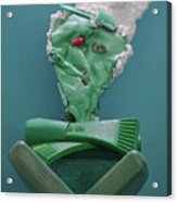 Yogi Levitation Acrylic Print