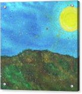 Yokun Ridge Acrylic Print
