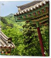 Yongmunsa Acrylic Print