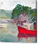 York Harbor Acrylic Print