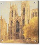 York Minster Acrylic Print