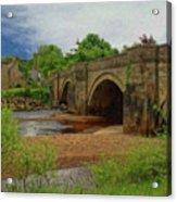 Yorkshire Bridge - P4a16015 Acrylic Print