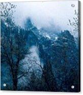 Yosemite Clouds I Acrylic Print