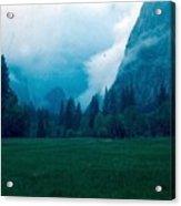 Yosemite Clouds II Acrylic Print