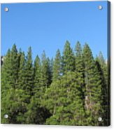 Yosemite Domes Acrylic Print