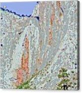 Yosemite Falls Drought Acrylic Print