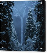 Yosemite Falls In January Acrylic Print