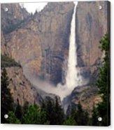 Yosemite Falls Vertical Acrylic Print