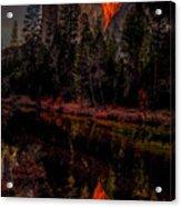 Yosemite Firefall 2015 Acrylic Print