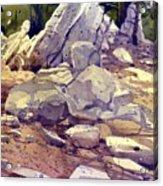 Yosemite Granite Acrylic Print