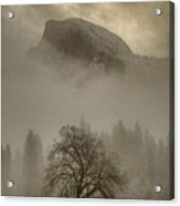 Yosemite In The Winter Acrylic Print