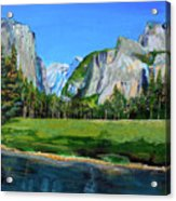Yosemite National Park In The Spring Acrylic Print