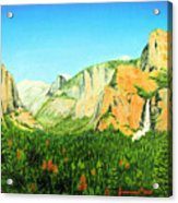 Yosemite National Park Acrylic Print by Jerome Stumphauzer