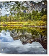 Yosemite Reflections Right Acrylic Print