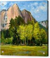Yosemite - Ribbon Falls Acrylic Print