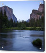 Yosemite Twilight Acrylic Print
