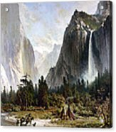 Yosemite Valley, C1860 Acrylic Print
