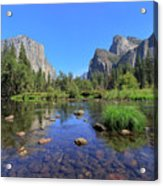 Yosemite Valley, California Acrylic Print