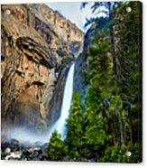Yosemite Waterfall Acrylic Print