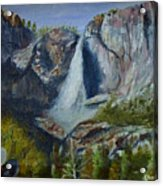 Yosemite Waterfall Acrylic Print