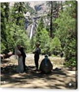 Yosemite Wedding  Acrylic Print