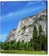 Yosemite West Valley Acrylic Print